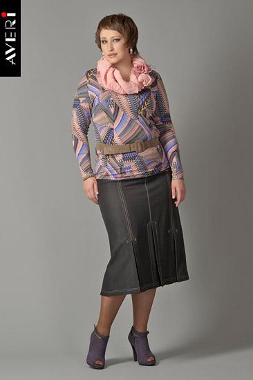 AVERI - российский производитель женской одежды больших размеров для полных женщин и девушек
